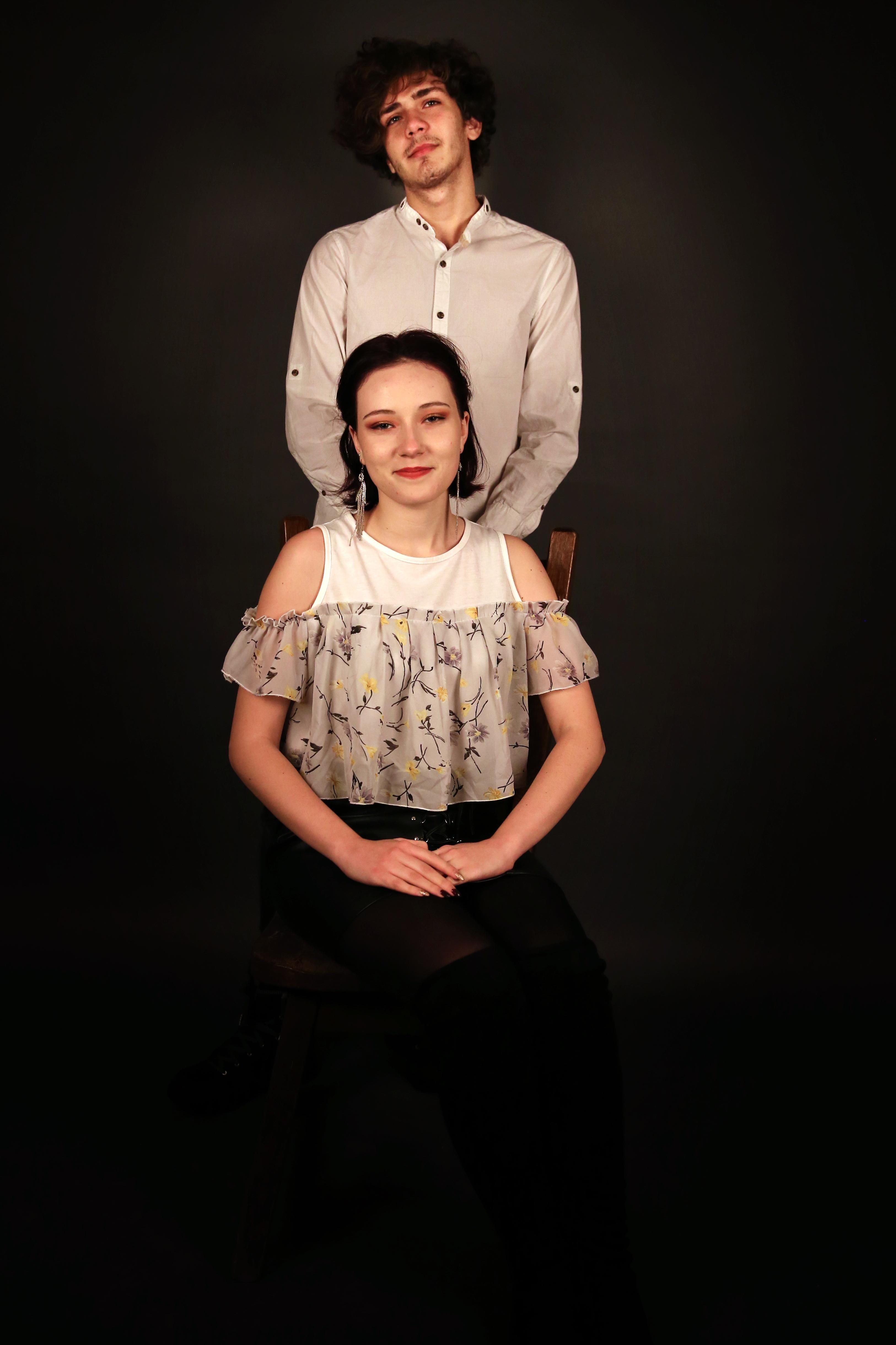 portret - fine art foto